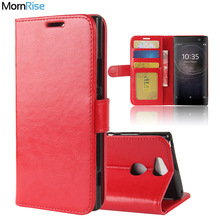 Buy Luxury Retro Leather Book Flip Folio Cover Sony Xperia XA2 XA2 Ultra Case Wallet Stand Card Photo Holder Mobile Phone Bags for $3.82 in AliExpress store