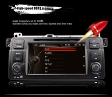 Wifi Car DVD Player GPS  2.7 Inch 1 Din Car Audio Stereo MP5 Player Bluetooth AM / FM Radio In-dash Mic for BMW E46