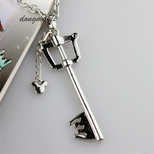 W3327 Kingdom Hearts Keyblade Metal Necklace Game Jewelry Accessories Figure Cosplay Toy Gift