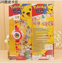 3D Led Digital 20 Projection 15style Cartoon pikachu spiderman hello kitty Watch Children Kids watch Boys Girls Clock Gift 1pcs