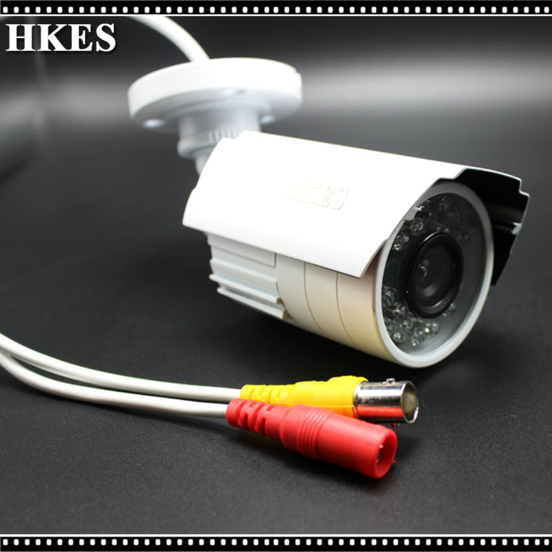 2pcs/lot Waterproof HD 1080P CCTV Camera 24IR LEDs 3.6mm Security Camera Outdoor IR-CUT Surveillance Camera<br>