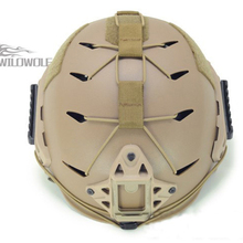 Tactical helmet modified with rubber suit cycling helmet attachment TB782 free shipping(China)