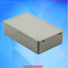 1Pcs 100X 60X 25MM ABS Plastic Electronic Project Box ABS DIY Enclosure Instrument Case Electrical Supplies(China)