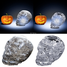 HOT Sale 3D Clear Puzzle Jigsaw Assembly Model Apple Shape Intellectual Toy Gift Hobby-TwFi
