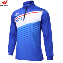 Marshal Sportswear Sublimation Customizing New Fashional Club soccer jersey long sleeve team soccer jersey