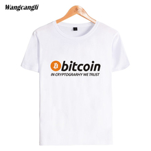 Buy Trendy Desig Bitcoin Cryptograrhy Trust MenWomen T-Shirt Summer Casual Hipster Brand Short Sleeve Simple Cotton Unisex Top for $7.68 in AliExpress store