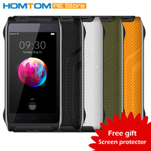 HOMTOM HT20 IP68 Waterproof 4G Smartphone Android 6.0 Quad Core MT6737 2GB RAM+16GB ROM Fingerprint Shockproof Mobile Phone