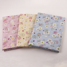 Country Style Flowers Patchwork Diy Sewing Material Cotton Twill
