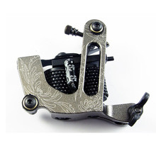Light weight Aluminum Alloy Liner Shader Tattoo Machine - Great Quality Gray Colors Tattoo Gun ink needles kit supply