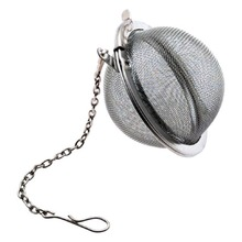 High Quality! 2017 Fashion Tea Bags Stainless Steel Mini Tea Ball Infuser Filter Loose Tea Leaves Strainer Hot(China)