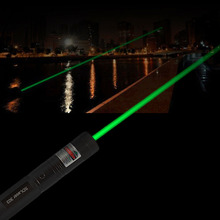 OUTAD 5MW 532nm Green Laser Tactical Hunting Pen Green Dot Powerful 303 Laser Pointer Presenter Head Burning Match No Battery