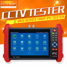 WIFI 7 inch LCD CCTV Tester 1080P Onvif IP Camera Test AHD CVI TVI SDI Camera Optional / Customized IPC/ PTZ Coaxial Control etc