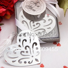 Sample Order Favors Book Lovers Collection Heart Bookmark Wedding Favors and Gift Metal Bookmark+FREE SHIPPING+30pcs/lot