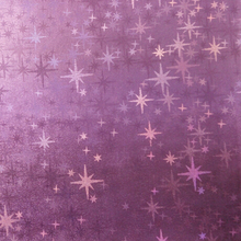 91CM X137CM High Quality Fabric For Furniture, PU Leather Fabric, Faux Leather Pattent Shiny Stars(China)
