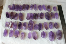 2.2LB (1Kg) Nice Natural Purple Amethyst Quartz Crystal Double Points Polished Healing, Wholesales Price