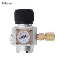 "Homebrew CO2 Mini Gas Regulator 30PSI with 3/8"" thread For Beer Brewing"