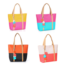 2014 New Han Edition Women's Lovely Candy Handbag Lady's PU Leather Shoulder Bag 4 Colors 88 BS88