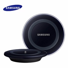Samsung Wireless Charger QI Charging Pad for Samsung Galaxy S6 S6 Edge S7 S7 Edge Note 5 Note8, EP-PG920I Original Charger(China)