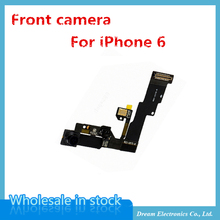 MXHOBIC 5 pcs/lot  High Quality Light Proximity Sensor Flex Cable with Front Facing Camera For iPhone 6 6G 4.7 Free Shipping