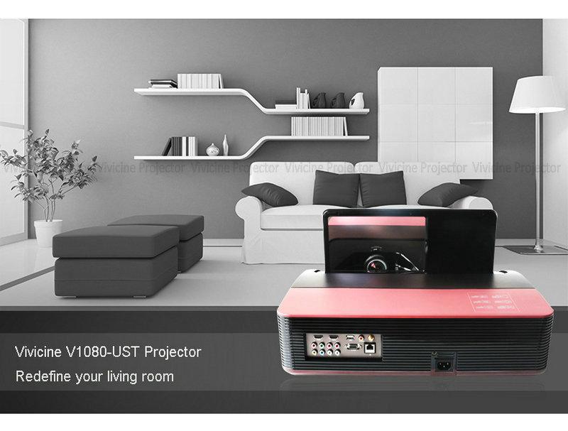 Vivicine 1080p Ultra Short Throw Projector (119)