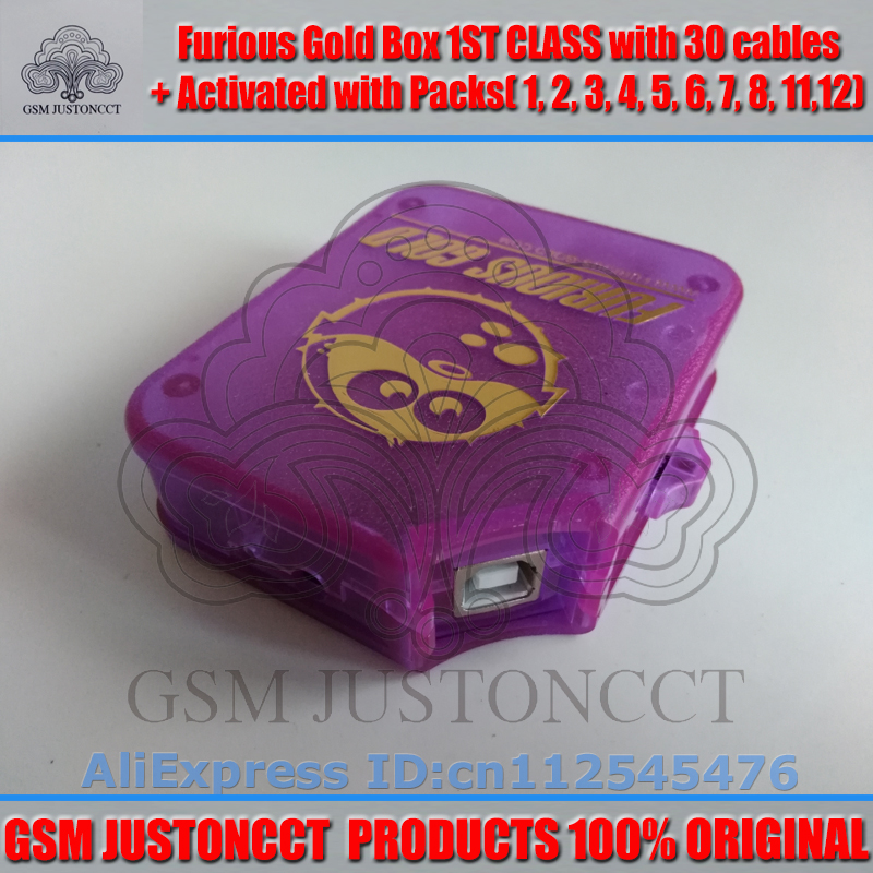 furious gold box+30 cable+pack2.3.4.5.6.7.8.11.12-GSMJUSTONCCT-3
