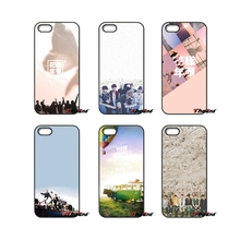 For iPod Touch iPhone 4 4S 5 5S 5C SE 6 6S 7 Plus Samung Galaxy A3 A5 J3 J5 J7 2016 2017 BTS Forever Young Kpop Logo Case Cover
