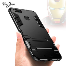 Buy Roc Joan Iron Man Armor Case Stand Xiaomi Mi A1 / Redmi 4X 4A / Note 4X 4 Hard PC Soft Silicone Anti shock Back Cover Coque for $2.97 in AliExpress store