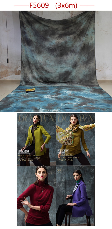 2017 Newest Tye-Die Muslin Fantasy BackdropF5609,fond de studio de photographie ,backgrounds for photo studio,size customized<br>
