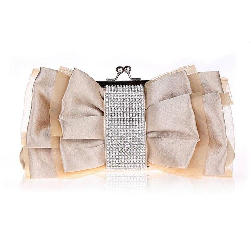 2017 Bow Flower Evening Bags Chain Crossbody Shoulder Bag Ladies Diamond Clutch Handbag Party Wedding Dress Makeup Bolsa Li480<br><br>Aliexpress