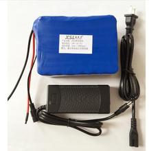 24V 10Ah 7S5P 18650 Battery lithium battery 24 v Electric Bicycle moped /electric/lithium ion battery pack + 29.4V2Acharger