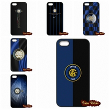 Inter Milan Football Club Logo Case Cover For Apple iPhone 4 4S 5 5C SE 6 6S 7 Plus 4.7 5.5 iPod Touch 4 5 6