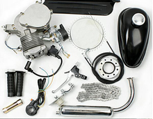 80CC 2 Stroke 47MM Motorized Bicycle Bike Motor Engine Kits With 2L Fuel Tank