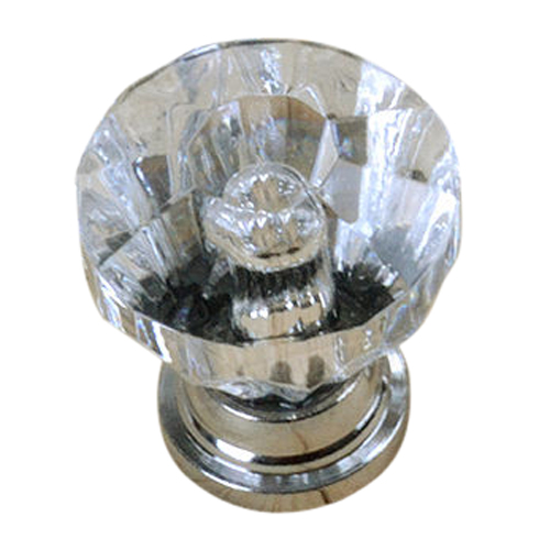 12x Clear Crystal Glass Door Knobs Drawer Cabinet Furniture Pull Handles<br><br>Aliexpress