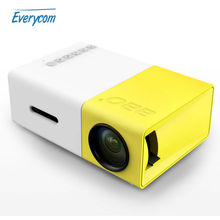 Mini Pico Projector Portable Pocket Beamer YG300 Video proyector best gift Toy For Kids parents With HDMI /SD/USB Film Projector