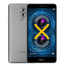 Global Firmware Original Huawei Honor 6X 3G RAM 32G ROM 5.5 Inch Dual Rear Camera Android 7.0 LTE Mobile Phone Fringerprint