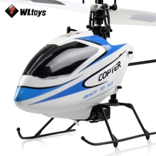 WLtoys V911 RC Drone Dron 2.4G 4CH 3-Axis Gyro RTF Remote Control Helicopter Simulated Design Drones with LCD Screen Transmitter