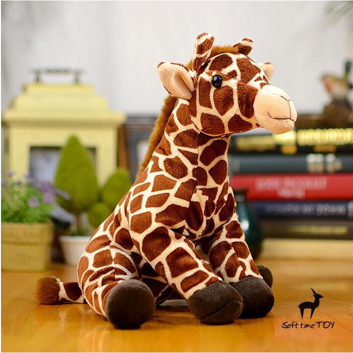 Super Soft Stuffed Toy Cute  Sitting Giraffe Doll  Kawaii  Plush Toys for children gifts shops<br><br>Aliexpress