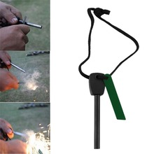Camping Outdoor Orange Ferrocerium Flint Stone Lighter Magnesium Emergency Survival Tool kit Big Size Hot Sale
