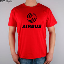 AIRBUS AVIATION Flight T-shirt cotton Lycra top new arrival Fashion Brand t shirt for men summer