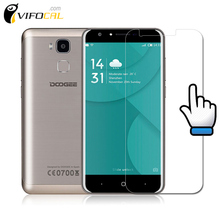 DOOGEE Y6 Tempered Glass 9H 2.5D 100% High Quality Screen Protector Film For Doogee Y6C Piano Black Mobile Phone