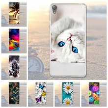 New Painted Cover Cases For Sony Xperia E5 F3311 F3313 Soft Silicone TPU Back Cover Phone Case For Sony Xperia E5 E 5 Fundas(China)