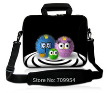 "Fancy Cartoon Style 10""13""14""15""17"" Computer Protect Case Soft Neoprene Laptop Shoulder Bag Cover Messenger Pouch For Dell HP(China)"