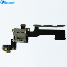 Netcosy New Micro SD Memory Card Slot Tray Holder Flex Cable Replacement For HTC ONE M9 Free Shipping(China)