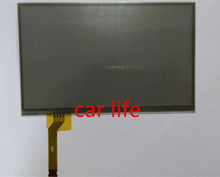 7 inch 8 pins Black glass touch Screen panel Digitizer Lens for GS300 GS350 car DVD player GPS navigation LTA070B2C1F LCD(China)