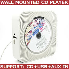 in wall mounted cd player support CD, MP3, USB and AUX in(China)