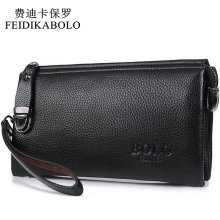 FEIDIKABOLO Famous Brand Men Wallet Luxury Long Clutch Handy Bag Moneder Male Leather Purse Men's Clutch Bags carteira Masculina