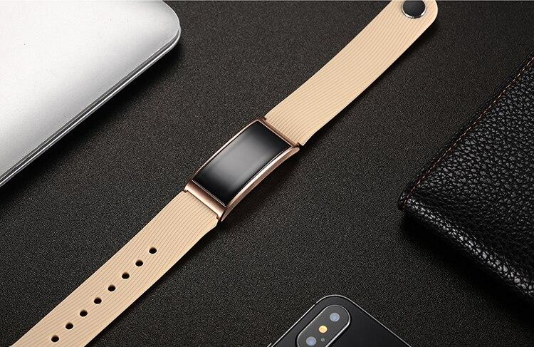 Microwear X3 IP68 Waterproof smart fitness bracelet pedometer blood pressure smart wristband Android iOS fitness tracker 11