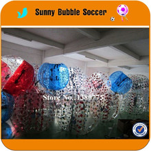 4PCS+1pump Factory price cheap inflatable body zorbing ball/bubble football/inflatable bubble ball