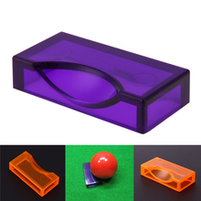1Pcs Plastic Snooker Billiards Position Marker Billiard Supplies for Ball 52 mm Suit for Pool Billiards Orange Purple(China)