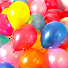 100 Pieces/Lot 10 Inch Latex Wedding decoration Party Balloon Colorful Helium Thickening Pearl balloons Child Toy Baby Balls